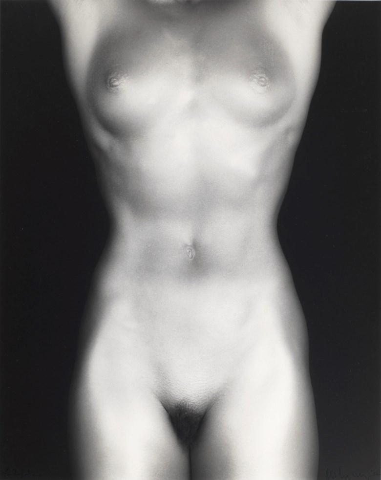 Robert Mapplethorpe (1946–1989), Lydia Cheng, 1985. Sheetflush mount 19¾ x 15¾  in (50.1 x 40  cm). Estimate $20,000-30,000. This lot is offered in Photographs on 2 April 2019 at Christie's in New York