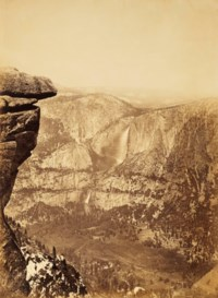 Yosemite Falls from Glacier Point, 1878–1881