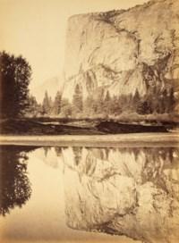 Mirror View of El Capitan, 3600 ft., Yosemite, c. 1880