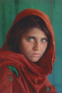 Afghan Girl, Peshawar, Pakistan, 1984