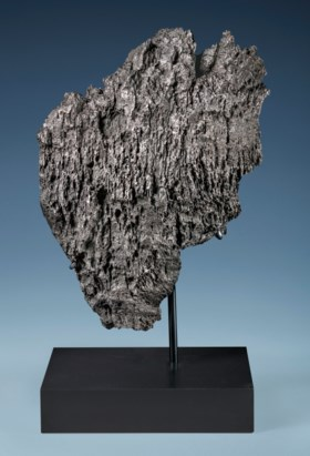 MASSIVE DRONINO METEORITE — EXTRATERRESTRIAL SCULPTURE FROM