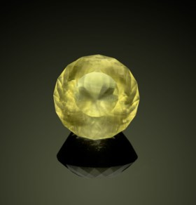 FACETED LIBYAN DESERT GLASS — 60 CARATS