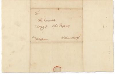 JEFFERSON, Thomas (1743-1826).