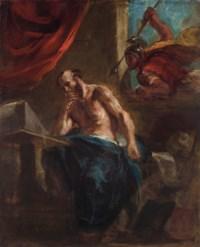 Archimède tué par le soldat de Marcellus