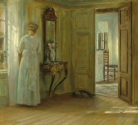 Interior with a Woman by a Window