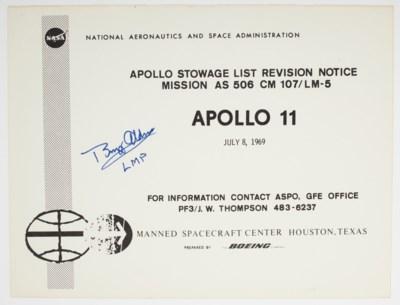 STOWAGE LIST – Apollo 11, Apollo Stowage List Revision Notice, Mission AS...
