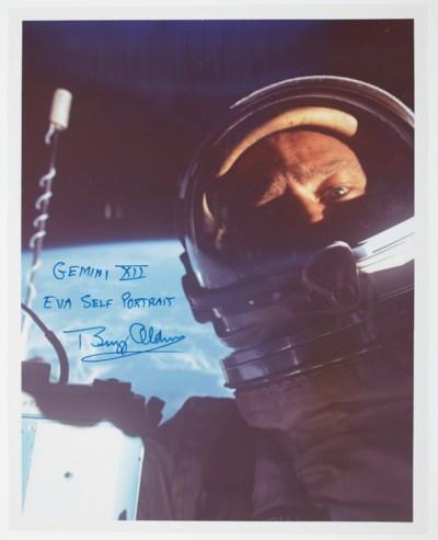 ALDRIN'S SPACEWALK – ALDRIN, B