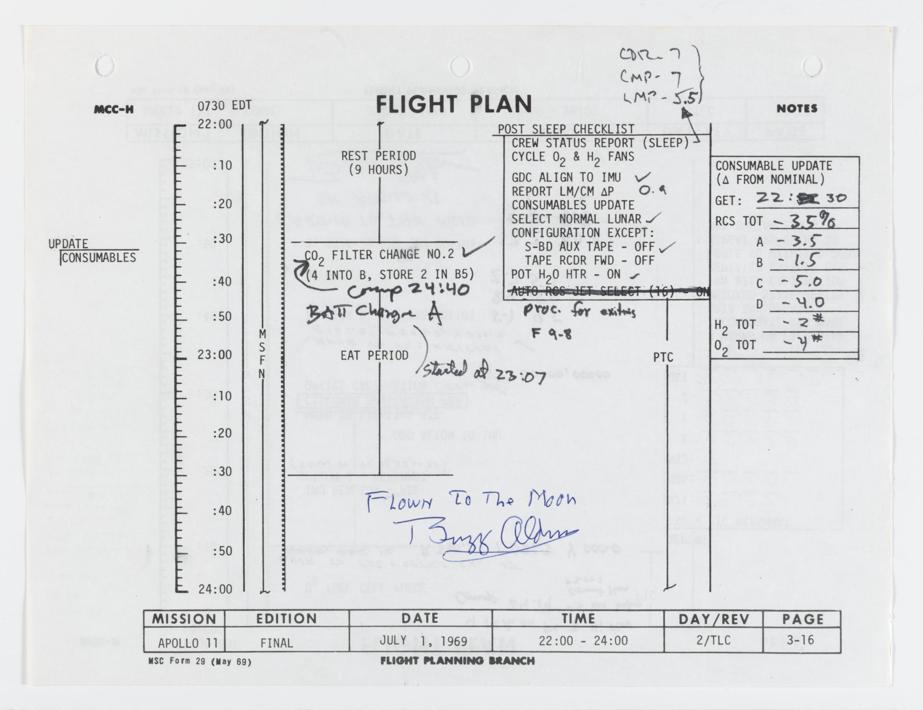 nasa apollo flight plan - photo #6