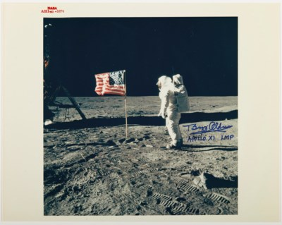 THE U.S. FLAG ON THE MOON – Ph