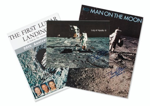 The Apollo 11 Lunar Module Timeline Book to be auctioned