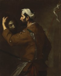 The Executioner with the head of Saint John the Baptist