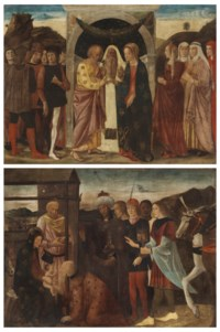 The Marriage of the Virgin; and The Adoration of the Magi
