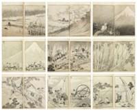 Fugaku hyakkei (One hundred views of Mount Fuji), 1834-35; ca. 1849 (vol. 3)