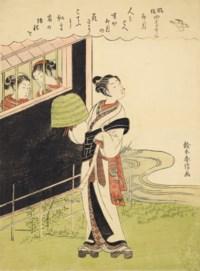 Komuso (itinerant monk with basket hat), Uzuki (the Fourth Month)
