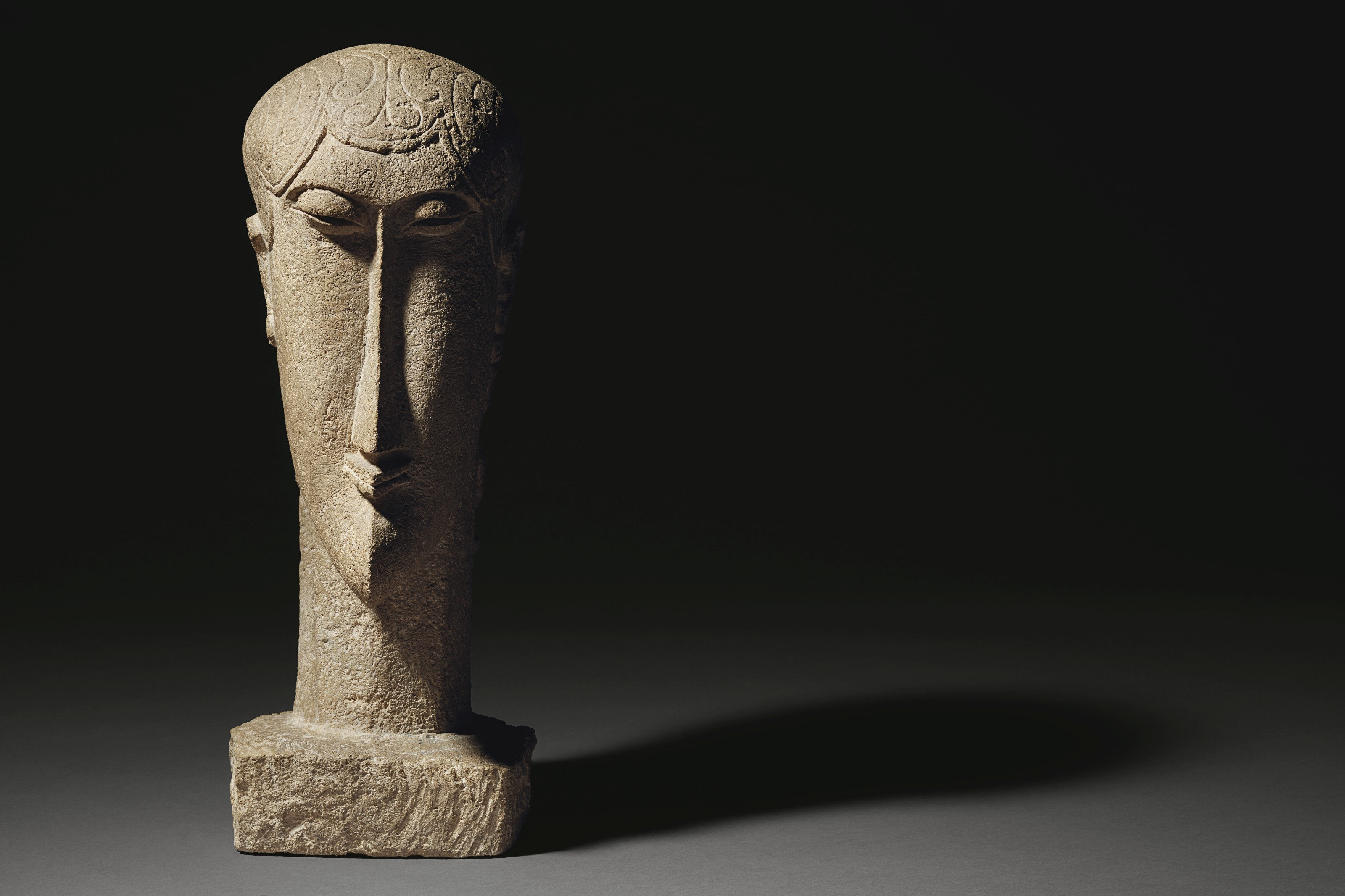 Amedeo Modigliani: Amedeo Modigliani (1884-1920) , Tête