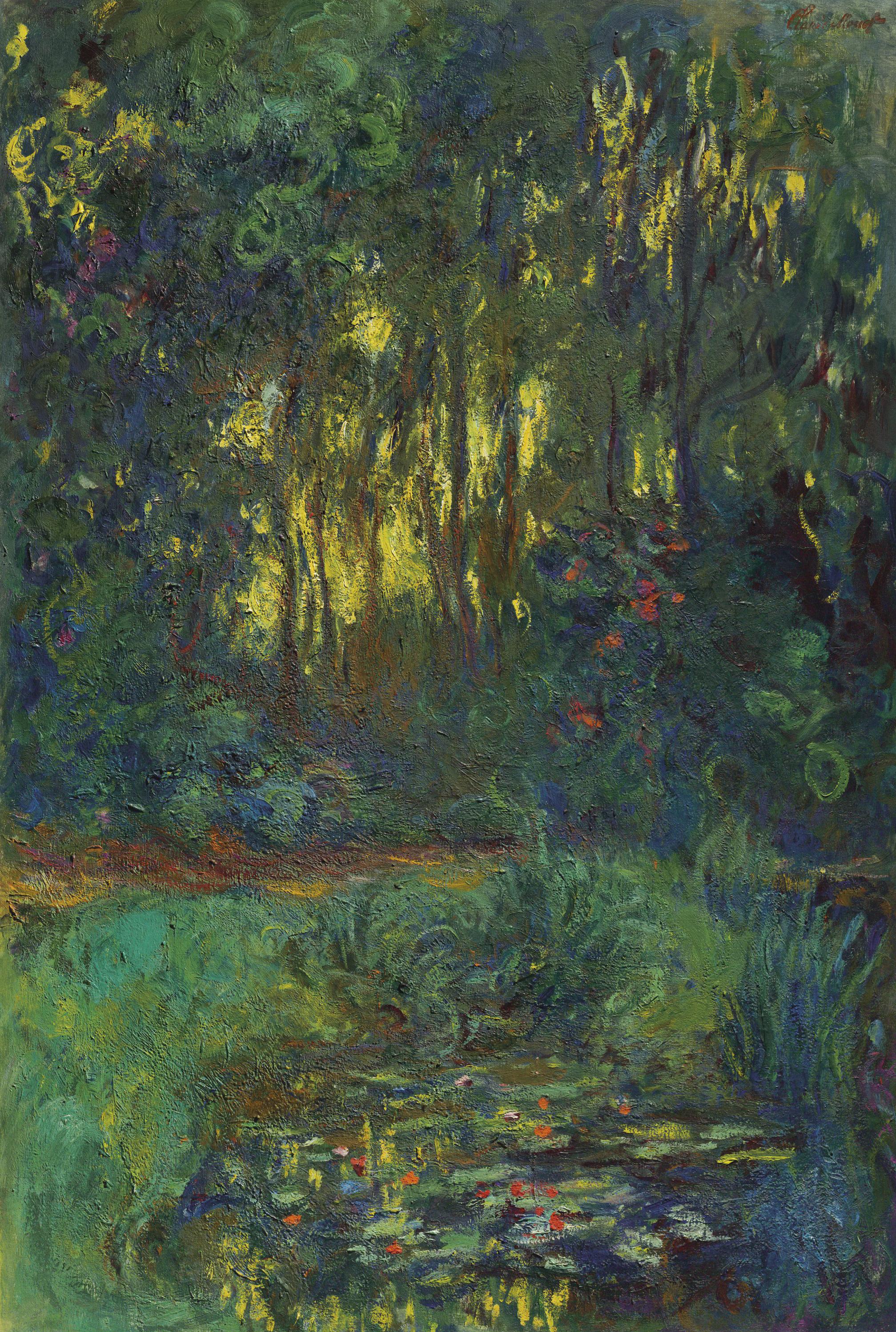 Claude Monet (1840-1926) | Coin du bassin aux nymphéas | 1910s, Paintings |  Christie's