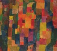 Stilleben mit der Distelblüte (recto); Ohne Titel (verso)