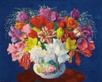 Grand bouquet de tulipes