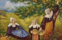 Les cueilleuses de pommes