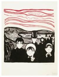 Angst, from Album des Peintres Graveurs
