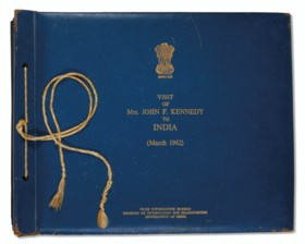 Visit of Mrs. John F. Kennedy to India (March 1962). [New De
