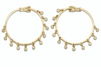 A PAIR OF DIAMOND AND GOLD 'CO