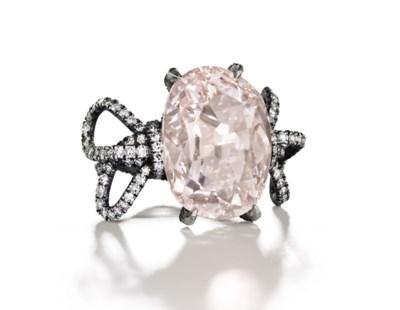 'THE PINK GOLCONDA DIAMOND' A