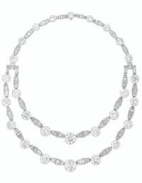 ART DECO DIAMOND NECKLACE, RUBEL FRÈRES
