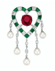 'THE DUPONT RUBY' AN EXQUISITE