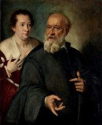 Portrait of a lady and a gentleman, half-length