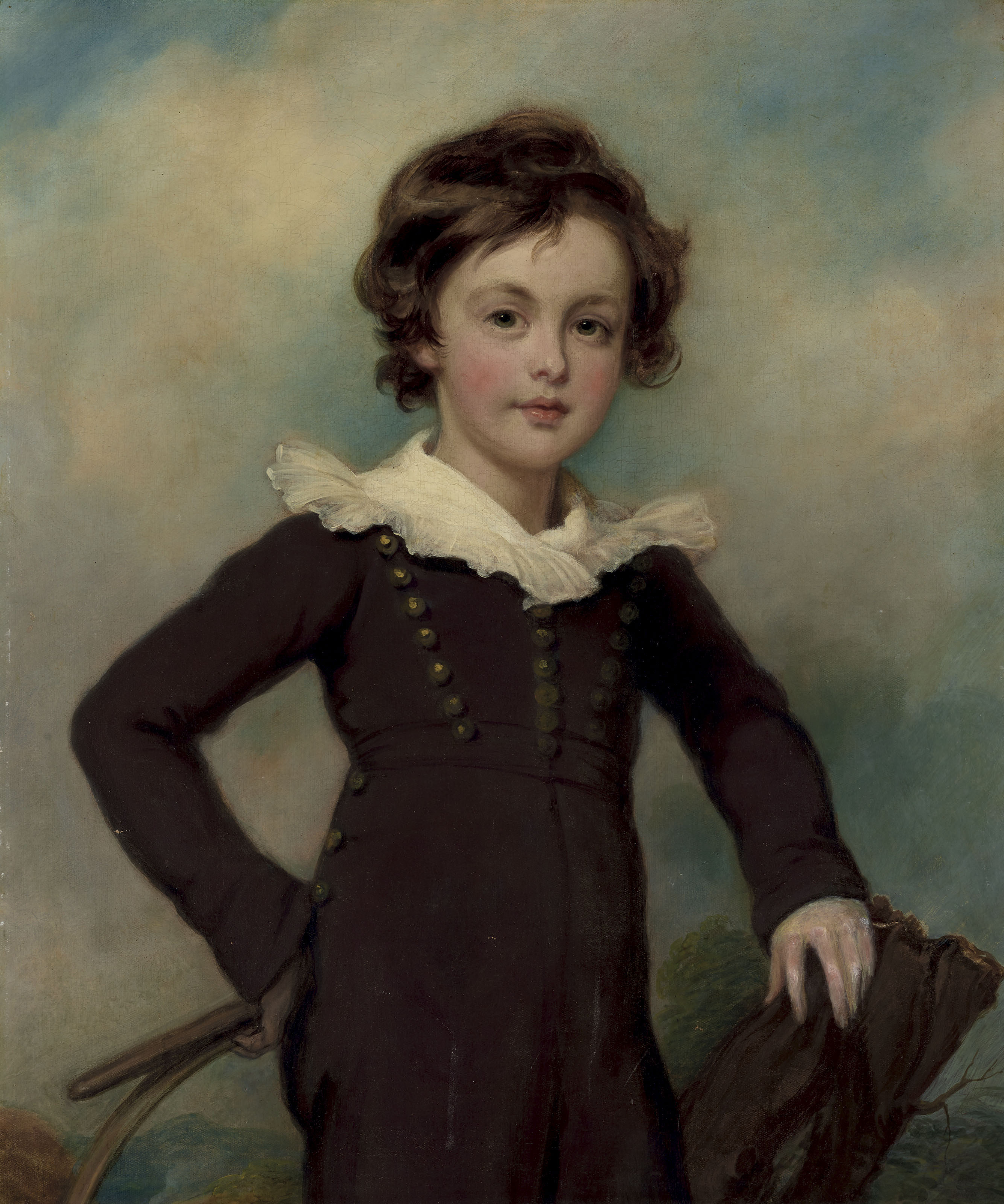 Portrait of Martin Farquhar Tupper (1810-1889), half-length