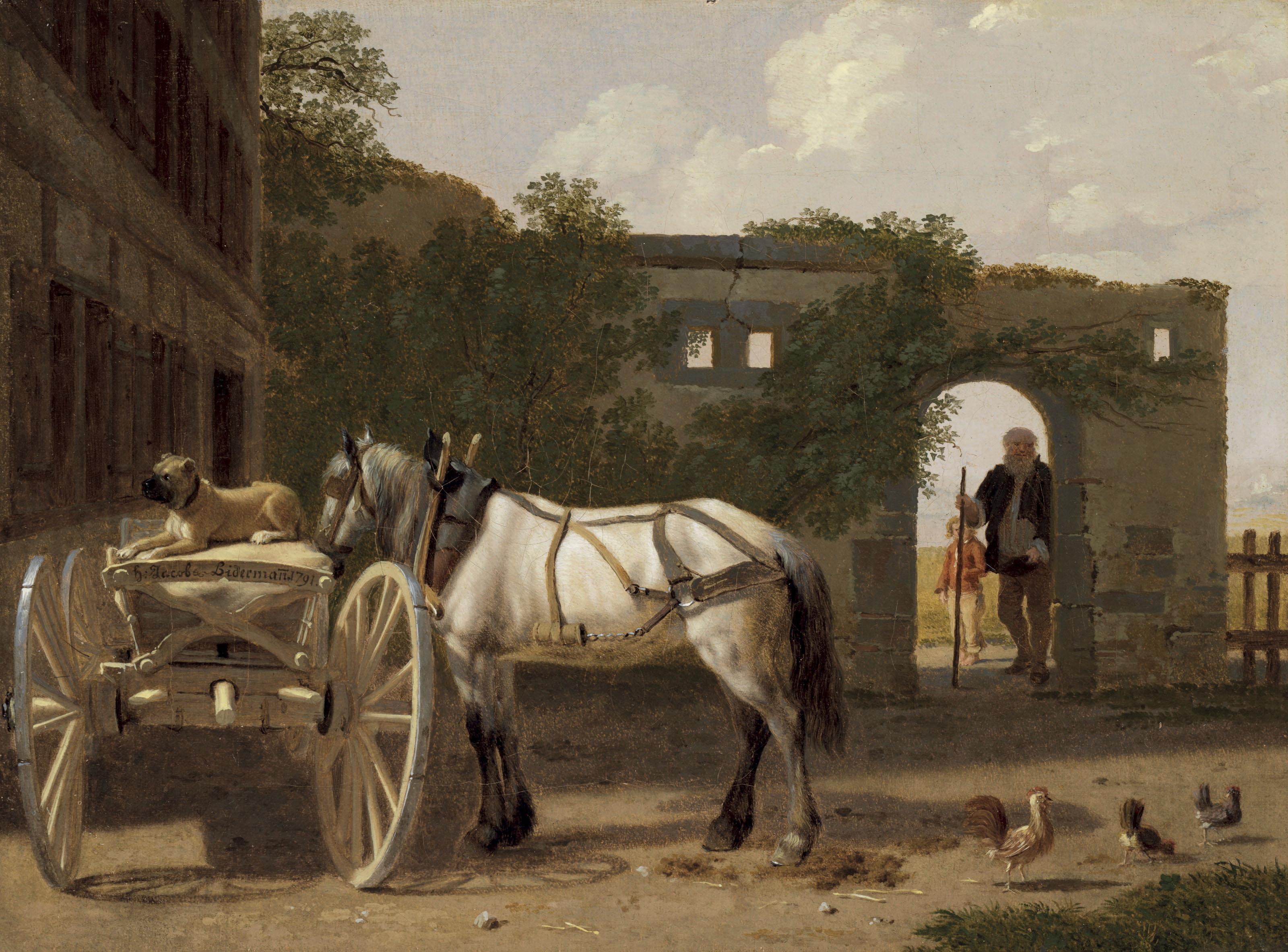 Johann Jakob Biedermann (Winterthur 1763-1830 Aussersihl)