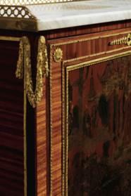A PAIR OF LOUIS XVI ORMOLU-MOU