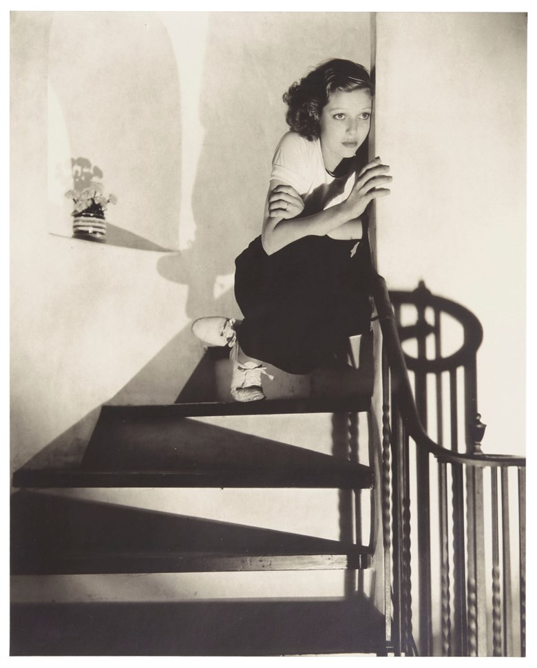 Edward Steichen (1879-1973), Loretta Young, Hollywood, August 1931. Sold for $47,500 on 2 April 2019 at Christie's in New York