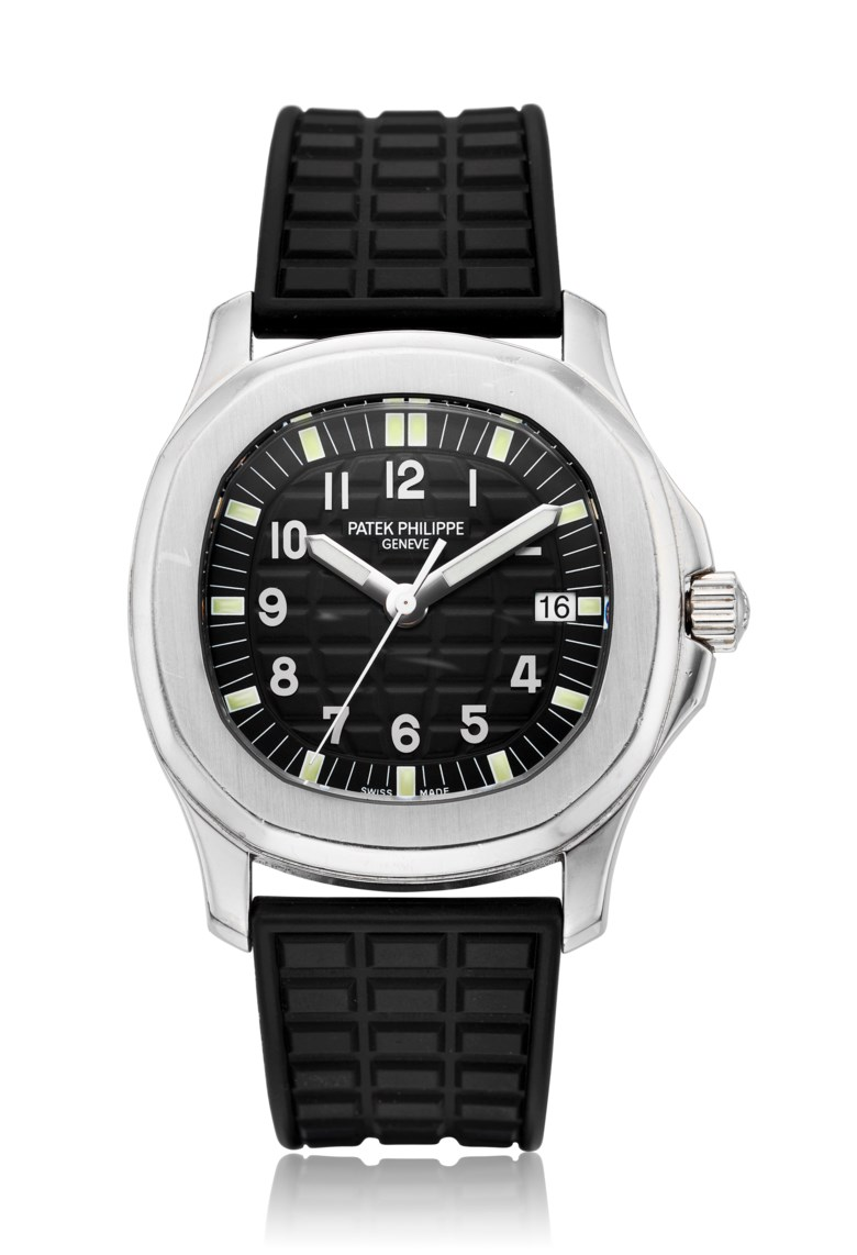 Patek Philippe, Aquanaut, ref. 5064. Case diameter 34 mm. Estimate $8,000-10,000. Offered in Christie's Watches Online, 26 February to 12 March 2019