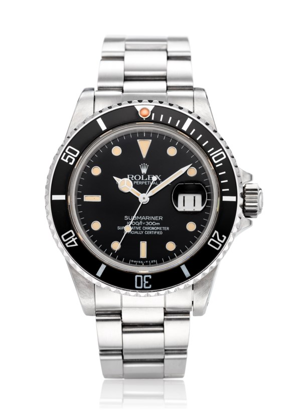 "ROLEX, ""LIGHT TROPICAL"" SUBMARINER, REF. 16800"