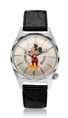 WALT DISNEY COMMISSIONED AND PERSONALLY GIFTED HAMILTON-RICOH DISNEYLAND ELECTRIC