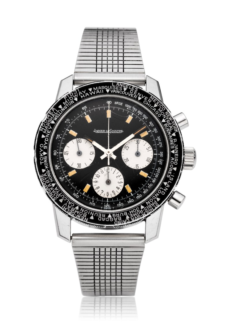 Jaeger-LeCoultre, Chrono Shark, ref. E2643. Estimate $7,000-12,000. Offered in Christie's Watches Online The Keystone Collection, 30 July to 13 August 2019, Online