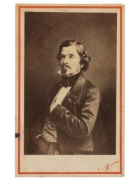 Portrait of Eugene Delacroix, 1858