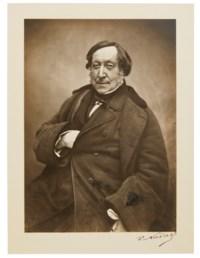 Gioachino Rossini, 1856