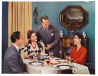 Dinner Table Foursome, 1940