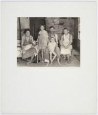 Alabama cotton tenant farmer family (Fields family), 1936