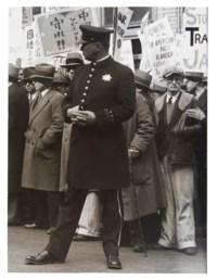 The General Strike, Policeman, San Francisco, 1934