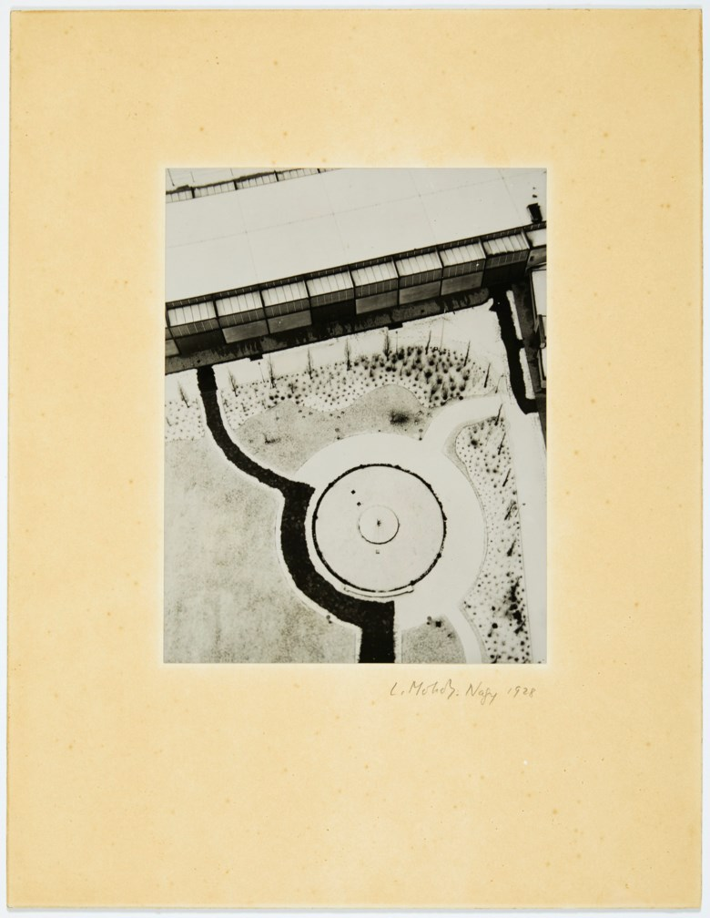 László Moholy-Nagy (1895–1946), From the Radio Tower, Berlin, 1928. Mount 17½ x 13½  in (44.5 x 34.2  cm). Sold for $275,000 on 2 October 2019 at Christie's in New York