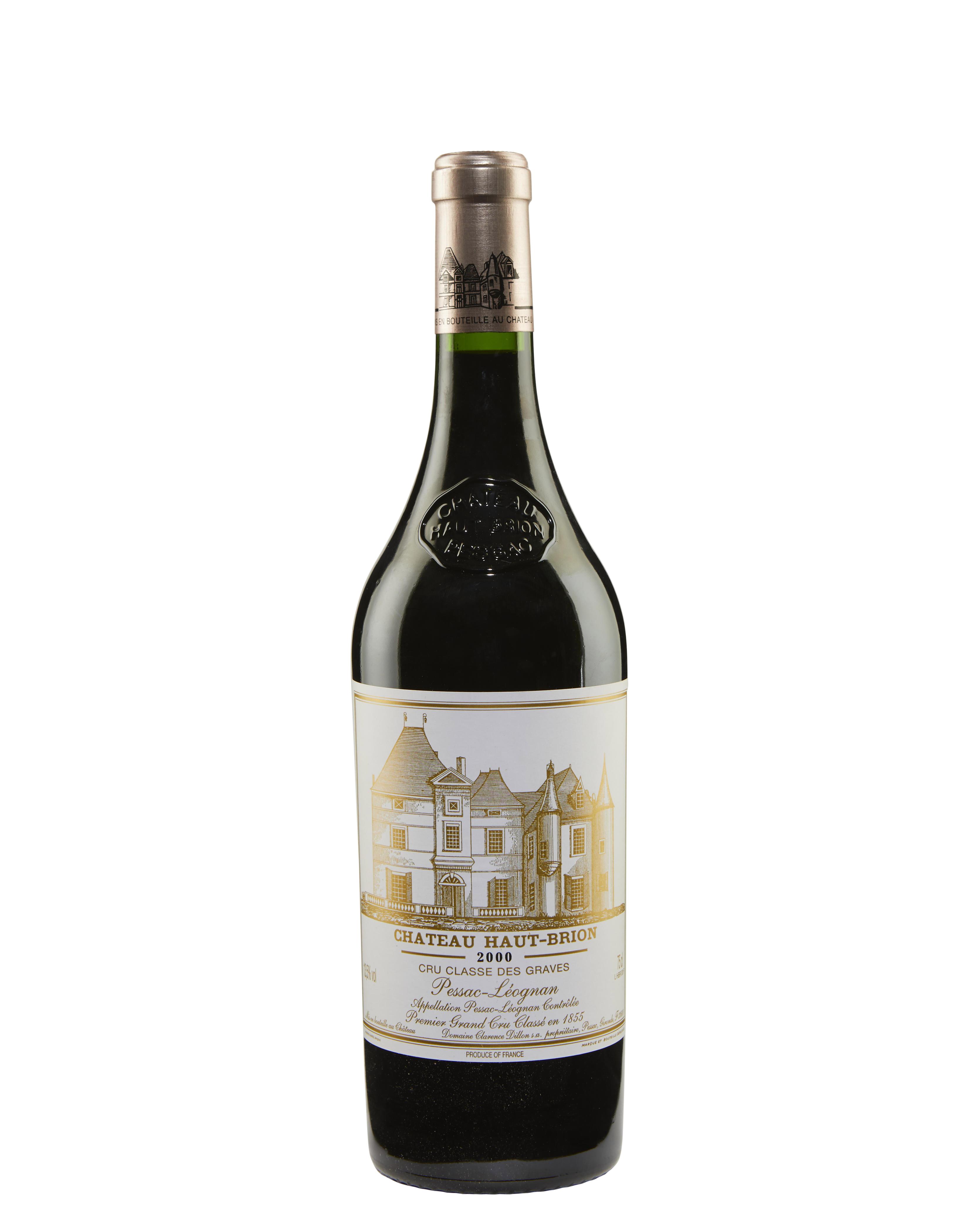 Château Haut-Brion 2000, Pessac (Graves), 1er cru classé. Sold for $17,500, 30 Jul 2019, Online