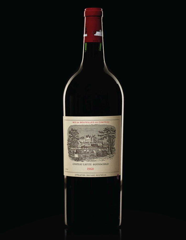 Château Lafite-Rothschild 1960, 6 magnums per lot. Estimate $4,500-6,000. Offered in Finest & Rarest Wines and Spirits on 13 December 2019 at Christie's in New York