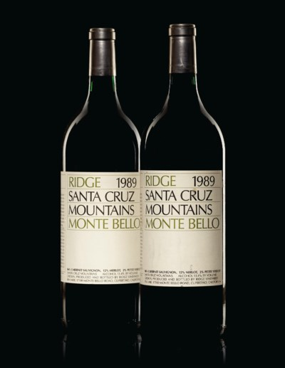 Ridge, Monte Bello Cabernet Sa