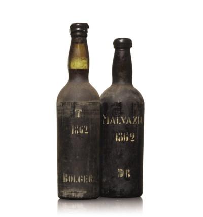 Dermot Bolger, Malvasia 1862 ,