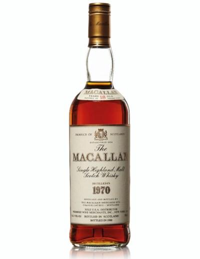 Macallan 18 Year Old 1970 , 19