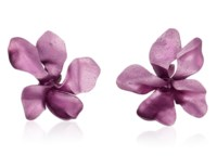 JAR ALUMINUM 'VIOLET' EARRINGS